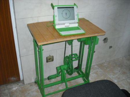 laptop cu pedale